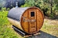 Sauna beczka.