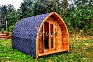 Drewniany kemping | Domek kempingowy