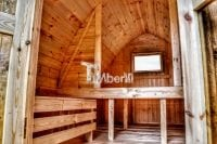Drewniany kemping - wnętrze