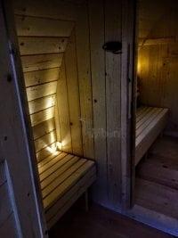"""""""Zrób to sam"""" - Budowa sauny Igloo (gotowa przebieralnia)"""