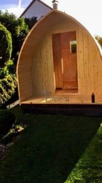 """""""Zrób to sam"""" - Budowa sauny Igloo (montaż drzwi wejściowych)"""