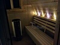 """""""Zrób to sam"""" - Budowa sauny Igloo (oświetlenie)"""