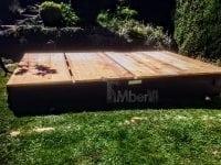 Projekt DIY - podstawa pod saunę