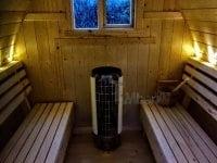 """""""Zrób to sam"""" - Budowa sauny Igloo (wnętrze)"""
