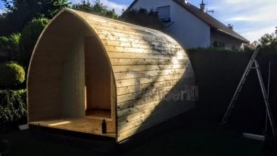 """""""Zrób to sam"""" - Budowa sauny Igloo (montaż ścian)"""